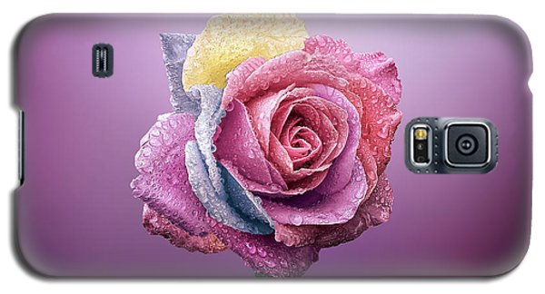 Rose Colorfull Galaxy S5 Case