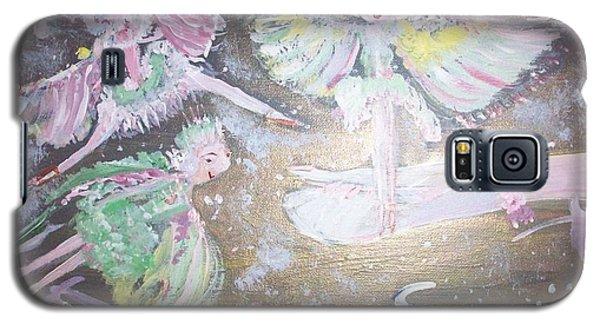 Rose Fairies Galaxy S5 Case by Judith Desrosiers