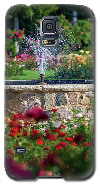 Rose Fountain Galaxy S5 Case