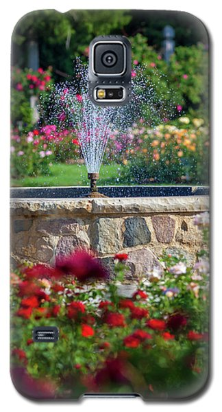 Rose Fountain Galaxy S5 Case