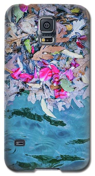 Rose Garden Fountain II Galaxy S5 Case