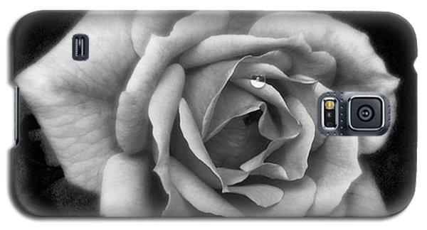 Rose In Mono. #flower #flowers Galaxy S5 Case