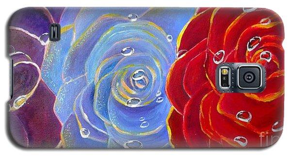 Rose Medley Galaxy S5 Case