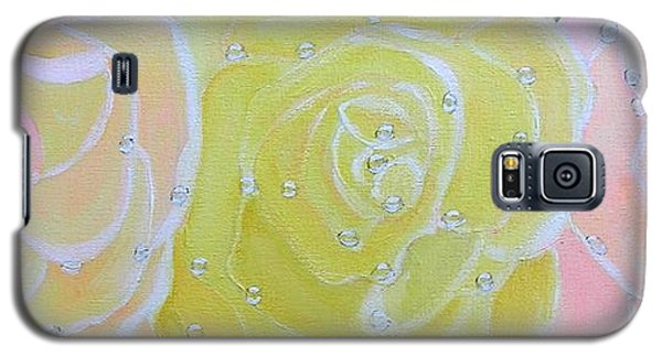 Rose Medley With Dewdrops Galaxy S5 Case
