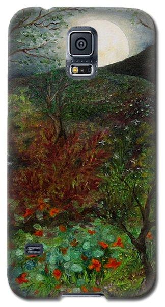 Rose Moon Galaxy S5 Case