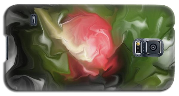 Rose On Troubled Water Galaxy S5 Case by Hai Pham