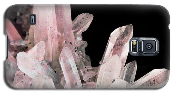 Rose Quartz Crystals Galaxy S5 Case