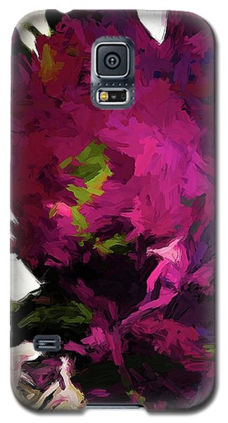 Rose Romantica Lime Green Purple Magenta Galaxy S5 Case