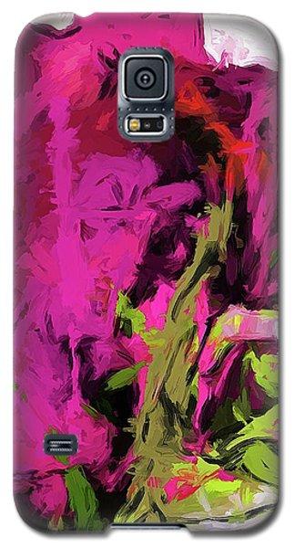 Rose Romantica Magenta Pink Galaxy S5 Case