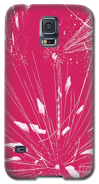 Galaxy S5 Case featuring the digital art Rose Splash by Methune Hively