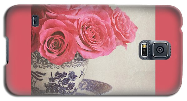 Galaxy S5 Case featuring the photograph Rose Tea by Lyn Randle