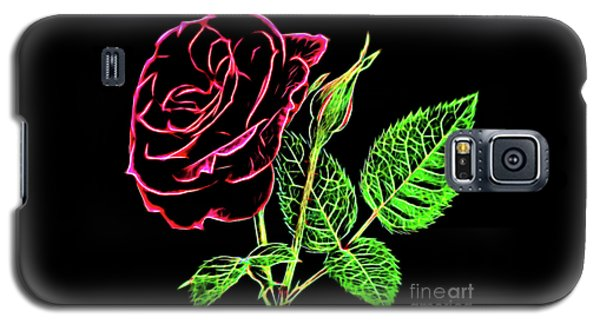 Rose The Beautiful 16218 Galaxy S5 Case
