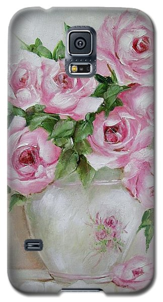 Rose Vase Galaxy S5 Case by Chris Hobel