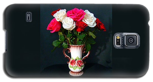 Rose Vase Galaxy S5 Case by Nick Kloepping