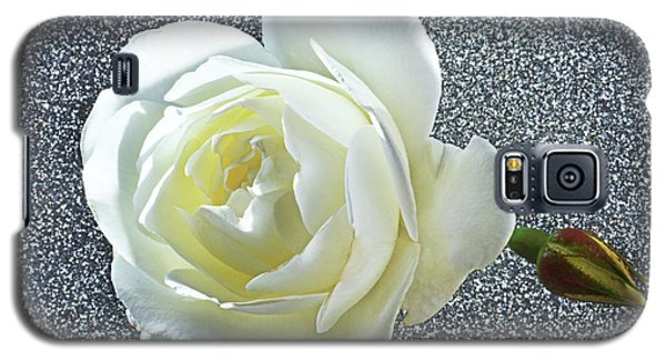 Galaxy S5 Case featuring the photograph Rose With Some Sparkle by Terence Davis