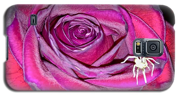 Rose With Spider Galaxy S5 Case