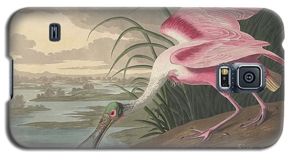 Roseate Spoonbill, 1836  Galaxy S5 Case by John James Audubon