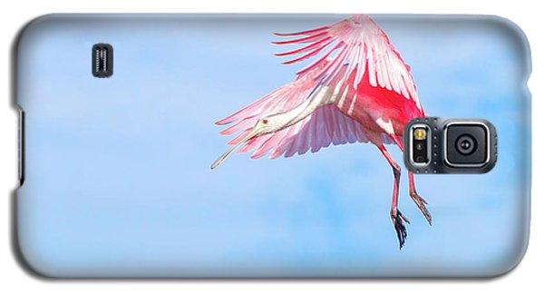 Roseate Spoonbill Final Approach Galaxy S5 Case