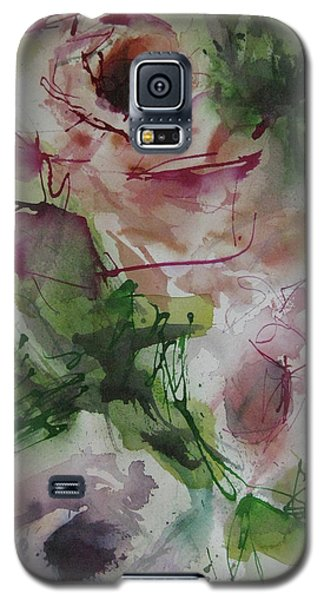Galaxy S5 Case featuring the painting Rosebuds by Robert Joyner