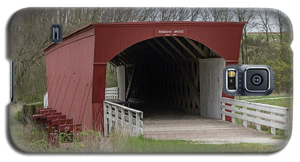 Roseman Covered Bridge - Madison County - Iowa Galaxy S5 Case