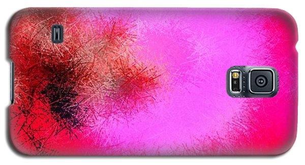 Galaxy S5 Case featuring the digital art Roses And Pins by Dr Loifer Vladimir