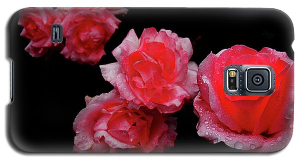 Roses And Rain Galaxy S5 Case