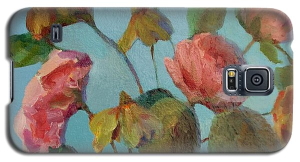Roses And Wildflowers Galaxy S5 Case