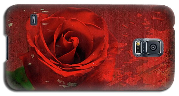 Galaxy S5 Case featuring the photograph Roses Are Still Red by Bonnie Willis