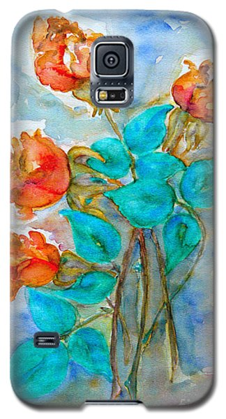 Roses Buds Galaxy S5 Case
