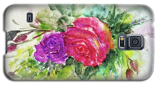 Roses For You Galaxy S5 Case by Jasna Dragun