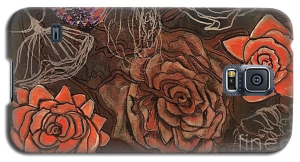 Roses In Time Galaxy S5 Case