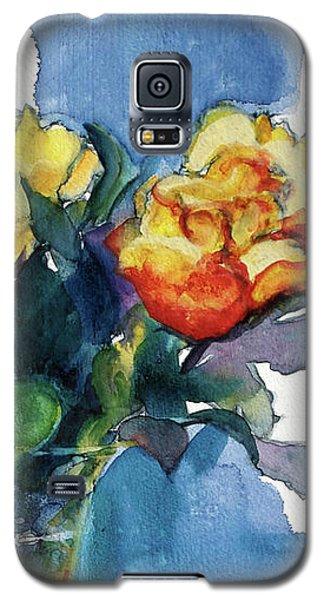 Roses In Vase Still Life I Galaxy S5 Case