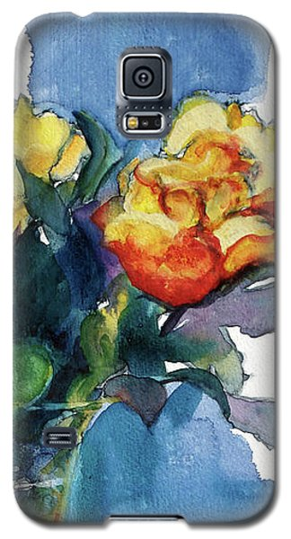 Roses In Vase Still Life I Galaxy S5 Case by Kathy Braud