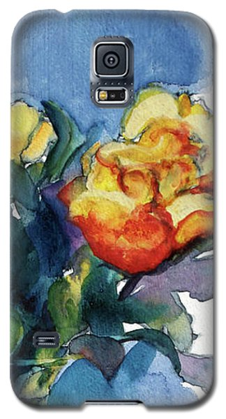 Roses In Vase Still Life I Galaxy S5 Case