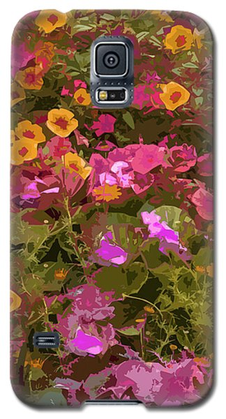 Rosy Garden Galaxy S5 Case by Josy Cue