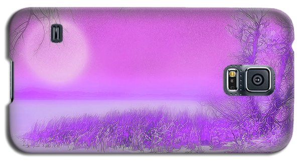 Rosy Hued Moonlit Lake - Boulder County Colorado Galaxy S5 Case