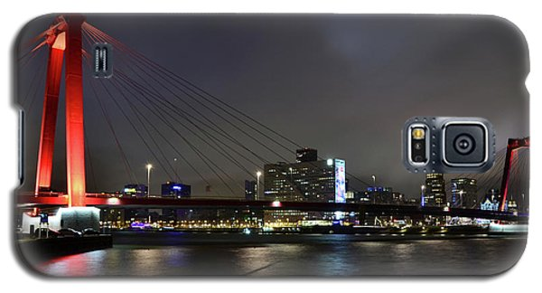 Rotterdam - Willemsbrug At Night Galaxy S5 Case