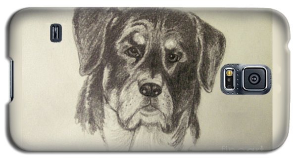 Rottweiler Galaxy S5 Case by Suzette Kallen