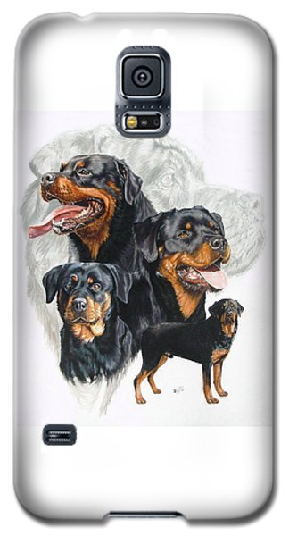 Rottweiler W/ghost  Galaxy S5 Case