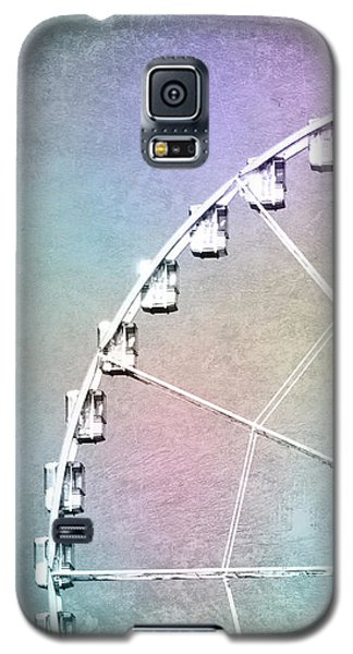 Galaxy S5 Case featuring the photograph Roue De Paris - Ferris Wheel In Paris by Melanie Alexandra Price