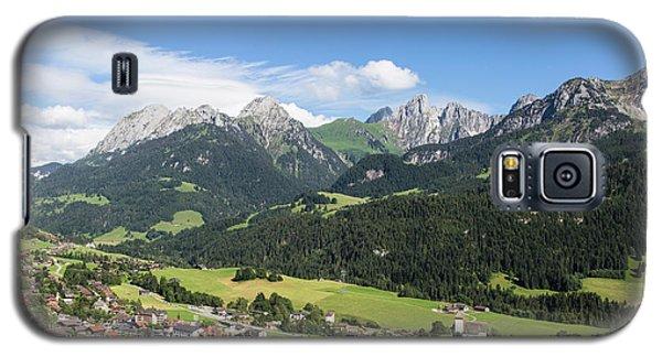 Rougemont Village In Switzerland Galaxy S5 Case