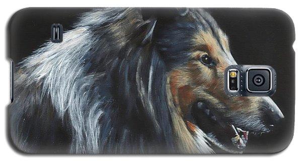 Rough Collie Galaxy S5 Case