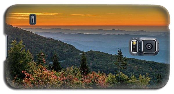 Rough Morning - Blue Ridge Parkway Sunrise Galaxy S5 Case