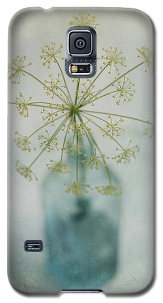 Still Life Galaxy S5 Cases - Round Dance Galaxy S5 Case by Priska Wettstein
