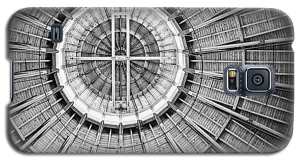 Roundhouse Architecture - Black And White Galaxy S5 Case