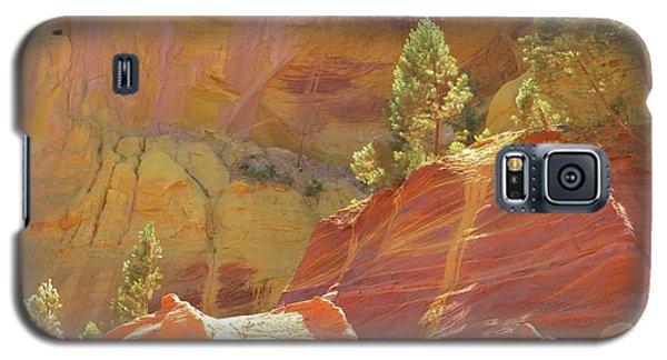 Roussillon Colours Galaxy S5 Case by Manuela Constantin