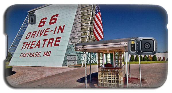 Route 66 Drive In Galaxy S5 Case