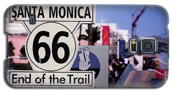 Route 66 End Of Trail Galaxy S5 Case