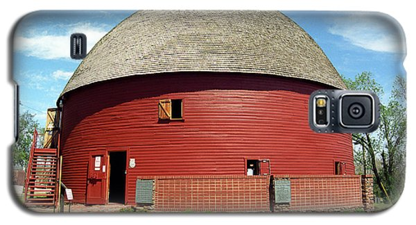 Route 66 - Round Barn Galaxy S5 Case