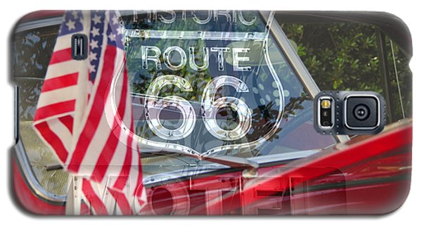 Galaxy S5 Case featuring the photograph Route 66 The American Highway by David Lee Thompson